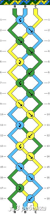Схема фенечки 19683