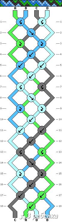Схема фенечки 19481