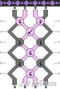 Схема фенечки 19687