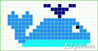 Схема фенечки прямым плетением 20122