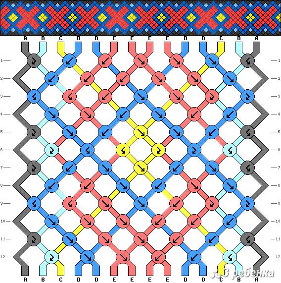 Схема фенечки 20829