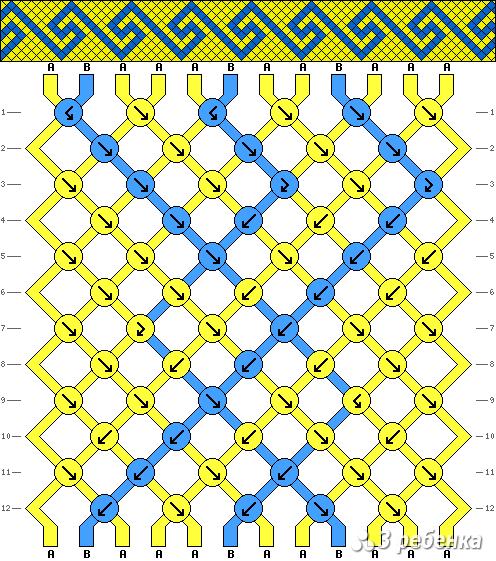 Схема фенечки 20795