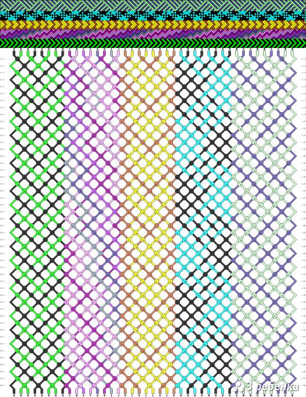 Схема фенечки 20870