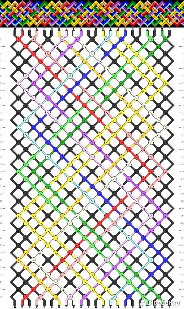 Схема фенечки 20875