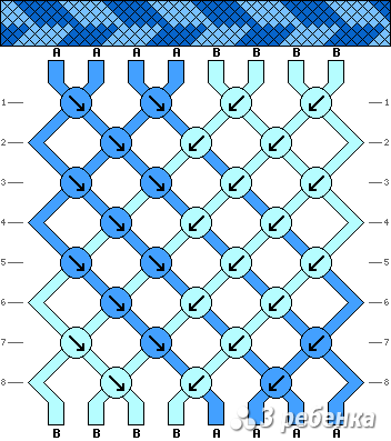 Схема фенечки 20756