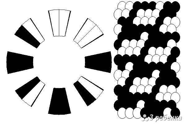 Схема фенечки кумихимо 21094