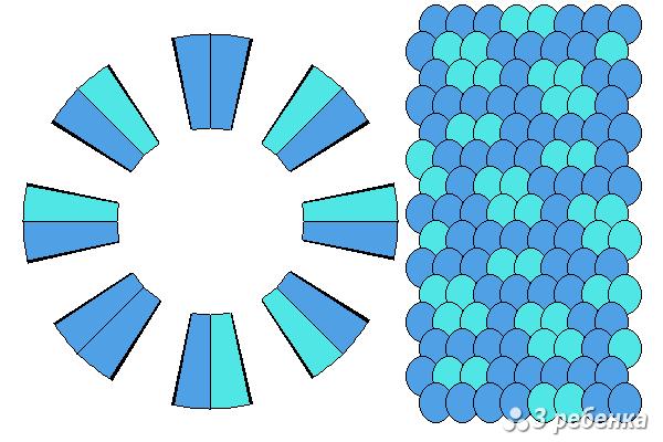 Схема фенечки кумихимо 21078