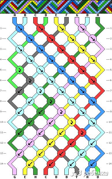 Схема фенечки 19892
