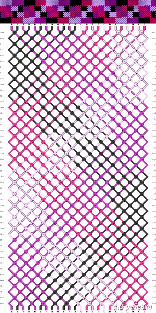 Схема фенечки 20852