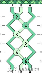 Схема фенечки 20765