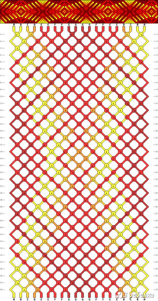 Схема фенечки 19879