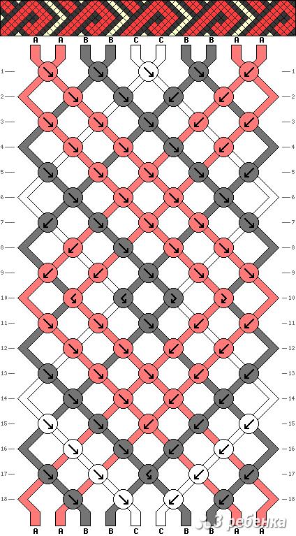 Схема фенечки 20821