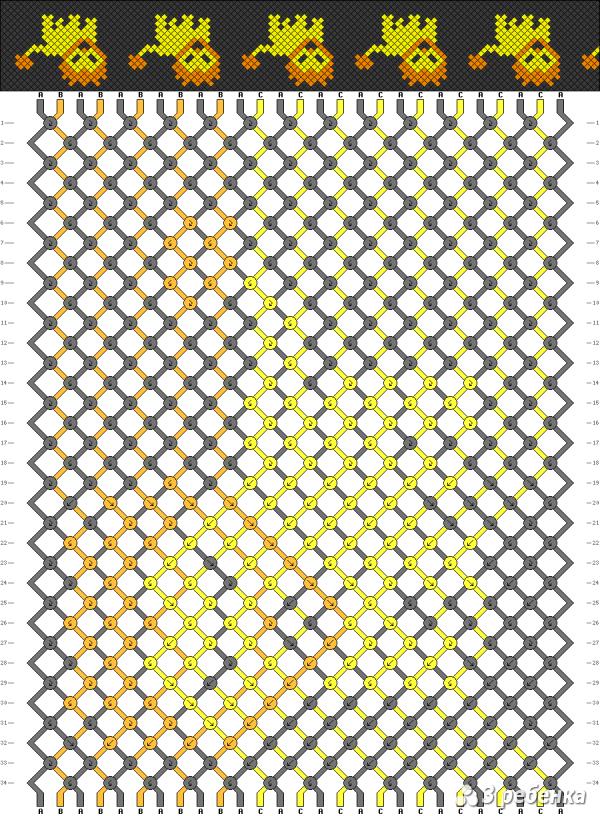 Схема фенечки 20790