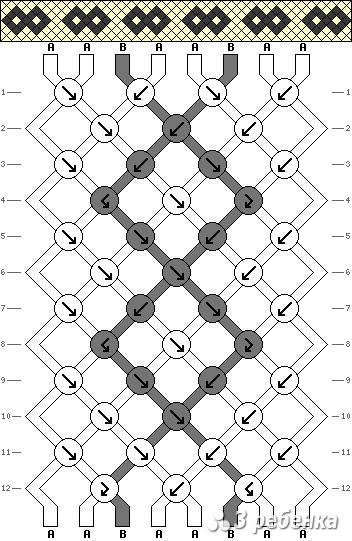 Схема фенечки 20815