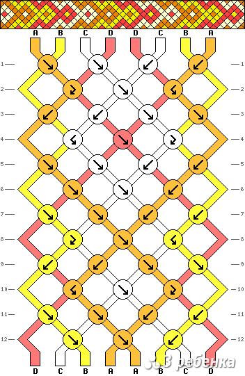 Схема фенечки 20741