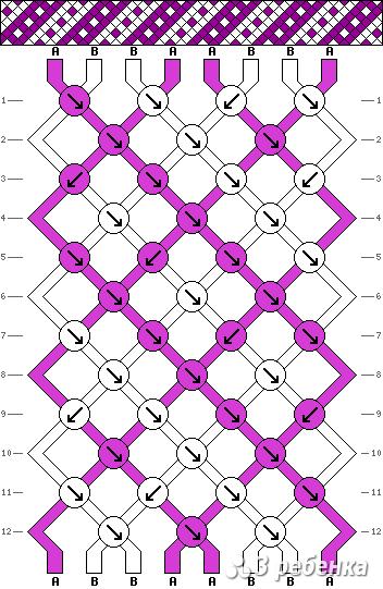 Схема фенечки 20750