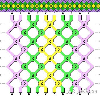 Схема фенечки 19897