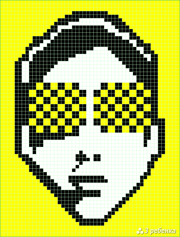 Схема фенечки прямым плетением 20210