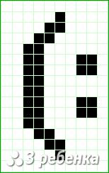 Схема фенечки прямым плетением 20204