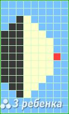 Схема фенечки прямым плетением 20937