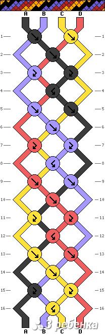Схема фенечки 21278
