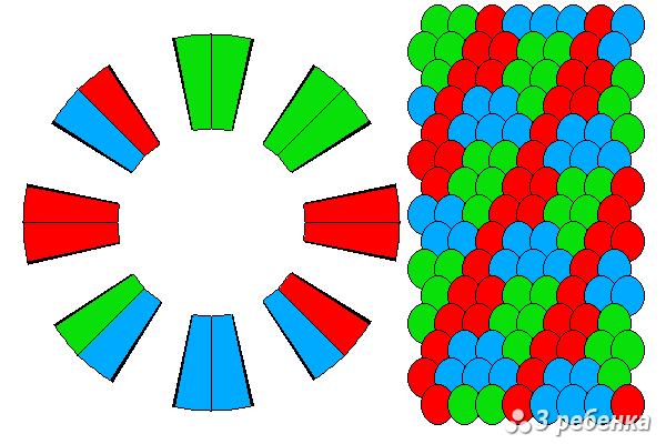 Схема фенечки кумихимо 21135