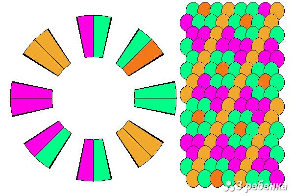 Схема фенечки кумихимо 21114