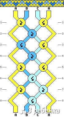 Схема фенечки 21283