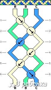 Схема фенечки 21231