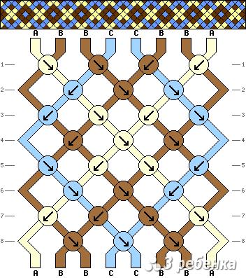 Схема фенечки 21310