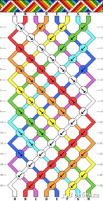 Схема фенечки 21236