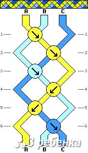 Схема фенечки 21304