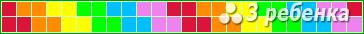 Схема фенечки прямым плетением 21397