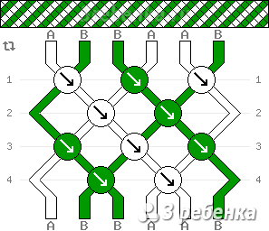 Схема фенечки 21567