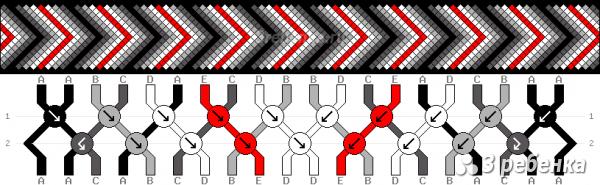 Схема фенечки 21575