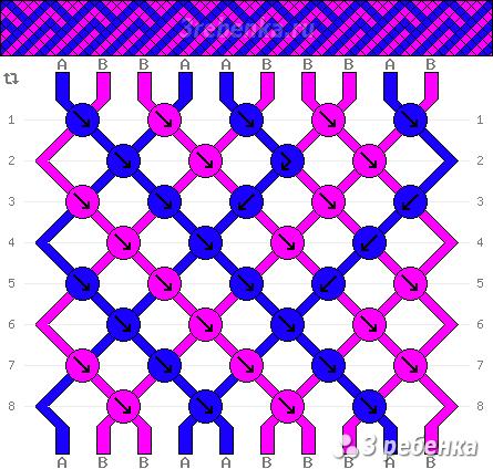 Схема фенечки 21592