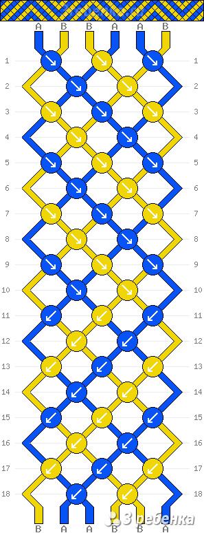 Схема фенечки 21601
