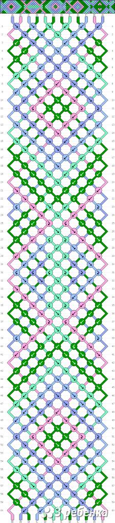 Схема фенечки 21615