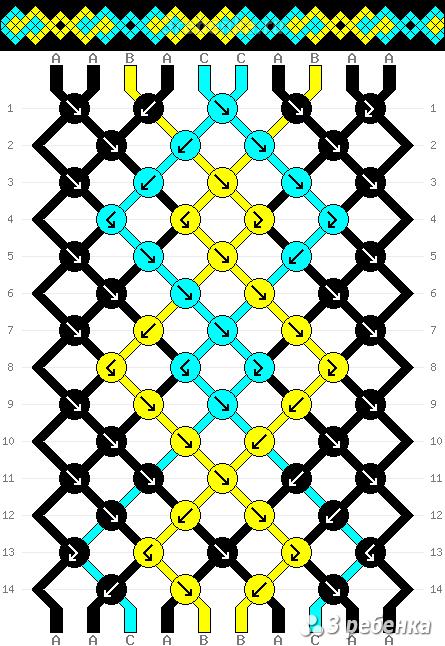 Схема фенечки 21619