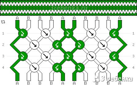 Схема фенечки 21643