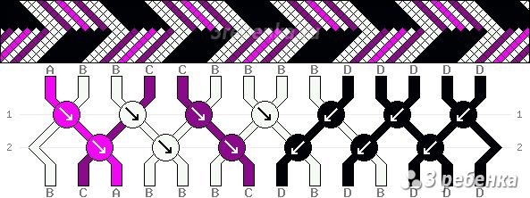 Схема фенечки 21657
