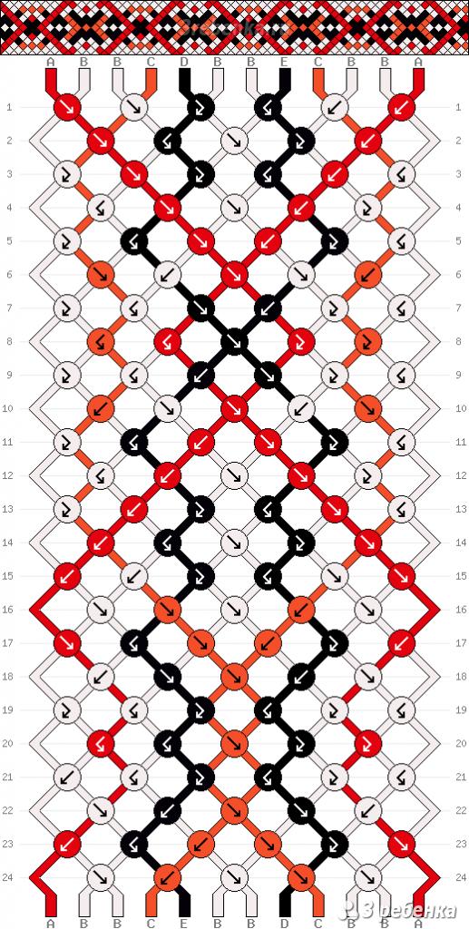 Схема фенечки 21929