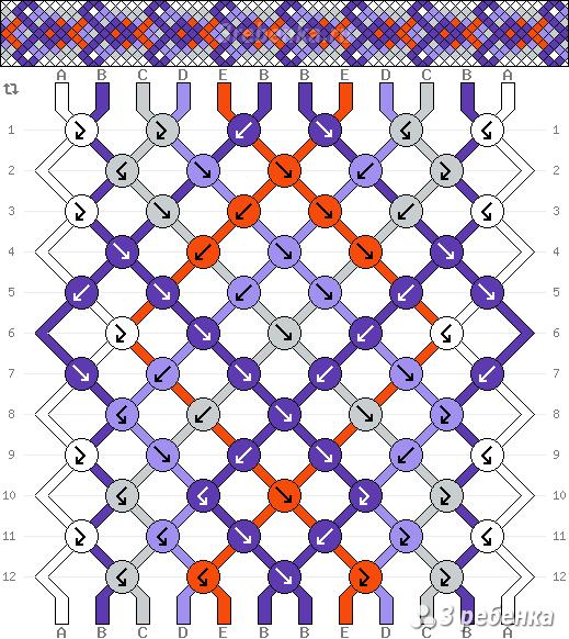 Схема фенечки 21952