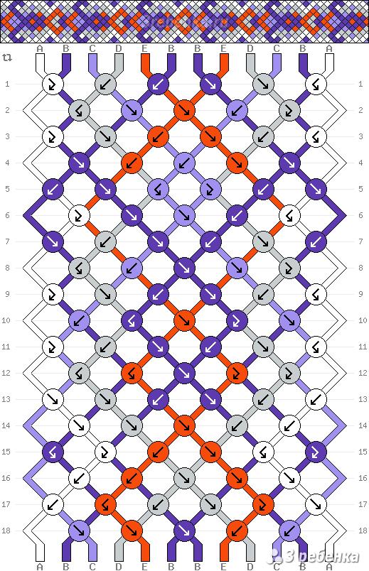 Схема фенечки 21956