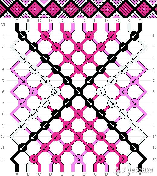 Схема фенечки 22018