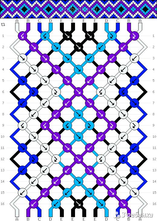 Схема фенечки 22026