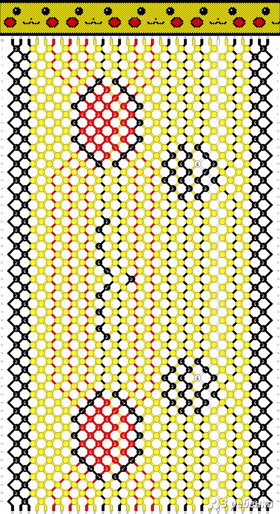 Схема фенечки 22148