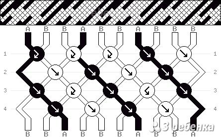 Схема фенечки 22192