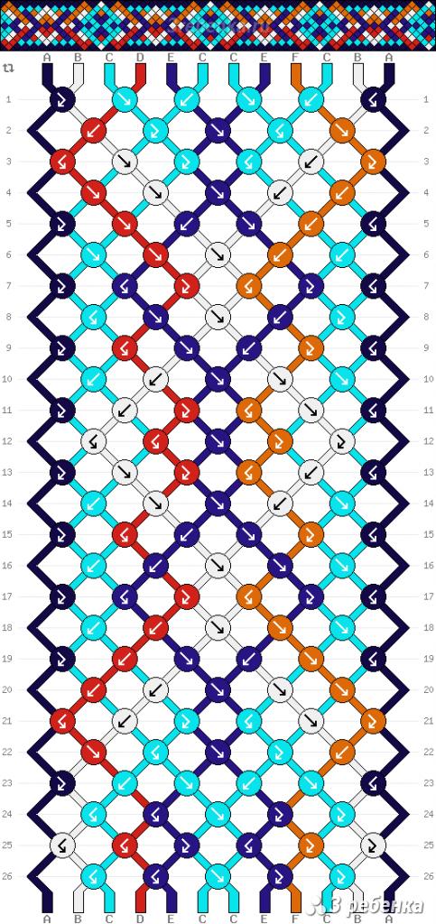 Схема фенечки 22237