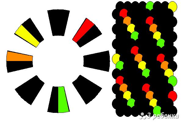 Схема фенечки кумихимо 21871